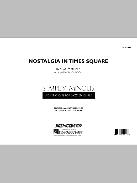 Nostalgia In Times Square (COMPLETE) sheet music for jazz band by Sy Johnson and Charles Mingus. Score Image Preview.