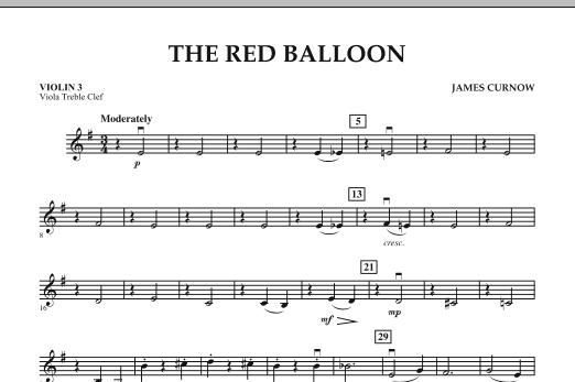 The Red Balloon - Violin 3 (Viola Treble Clef) (Orchestra)