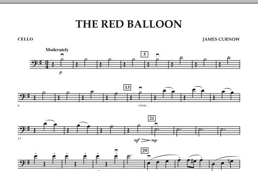 The Red Balloon - Cello (Orchestra)