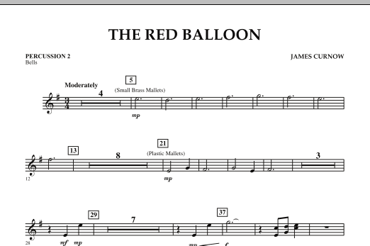 The Red Balloon - Percussion 2 (Orchestra)