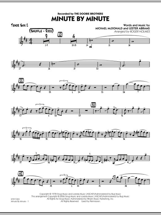 Minute By Minute - Tenor Sax 2 (Jazz Ensemble)