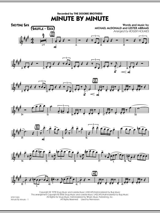 Minute By Minute - Baritone Sax (Jazz Ensemble)