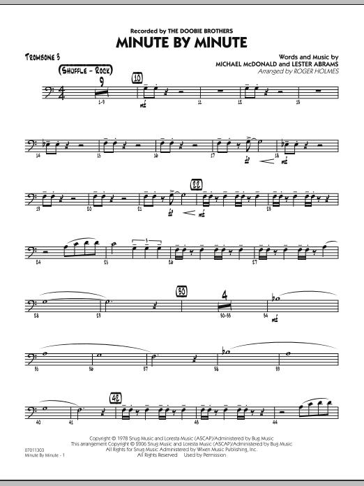 Minute By Minute - Trombone 3 (Jazz Ensemble)