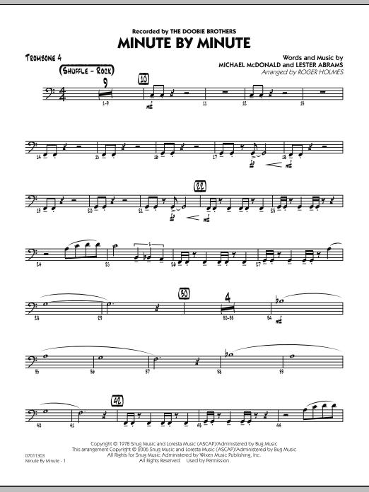 Minute By Minute - Trombone 4 (Jazz Ensemble)