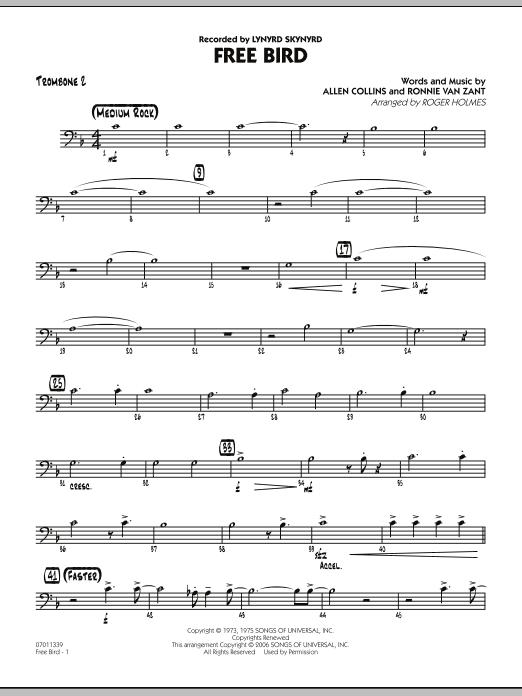 Free Bird - Trombone 2 (Jazz Ensemble)
