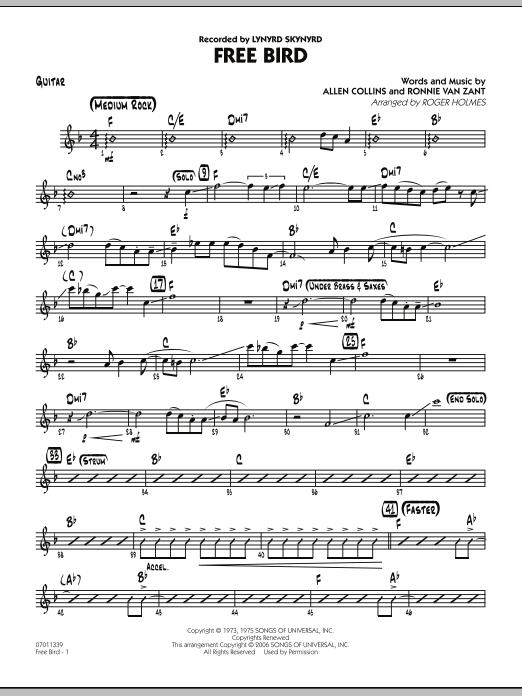Free Bird - Guitar (Jazz Ensemble)