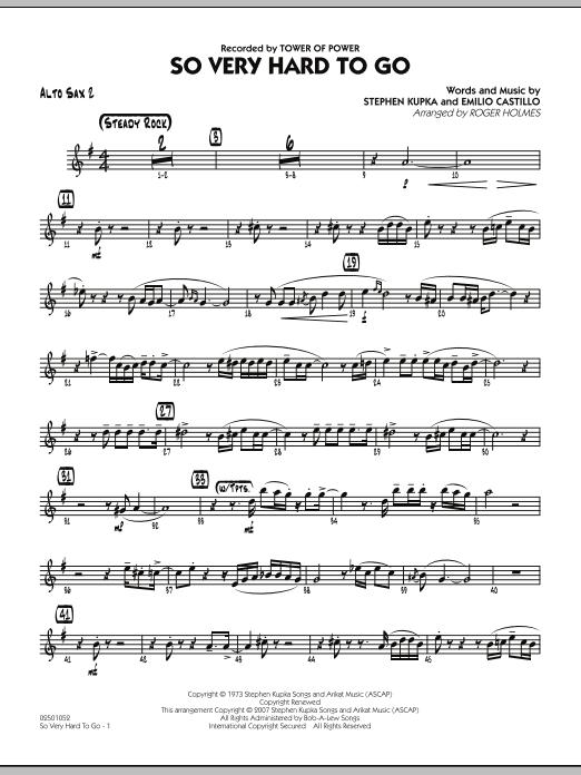 So Very Hard To Go - Alto Sax 2 (Jazz Ensemble)