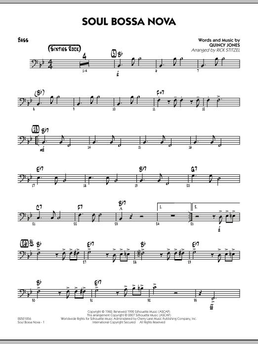 Soul Bossa Nova Guitar By Quincy Jones Quincy Jones Rick Stitzel