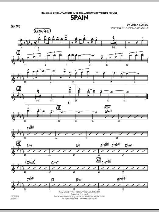 Spain - Guitar (Jazz Ensemble)