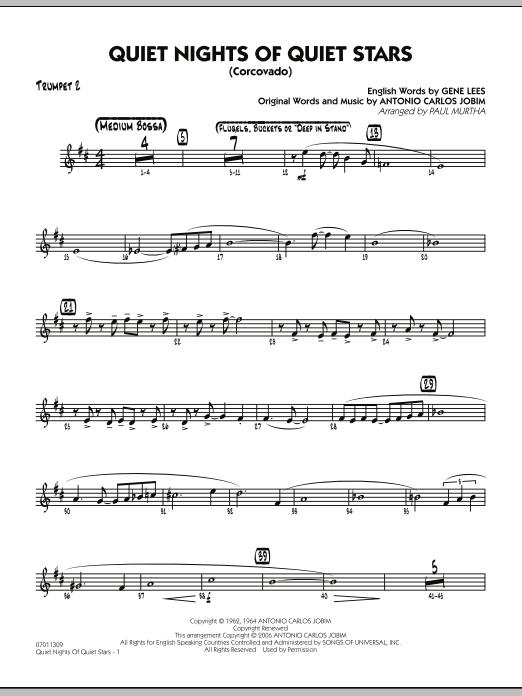 Quiet Nights Of Quiet Stars (Corcovado) - Trumpet 2 (Jazz Ensemble)