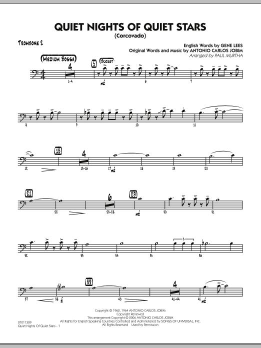Quiet Nights Of Quiet Stars (Corcovado) - Trombone 2 (Jazz Ensemble)
