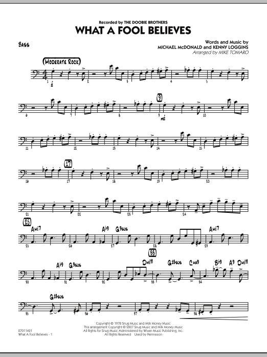 What A Fool Believes - Bass (Jazz Ensemble)