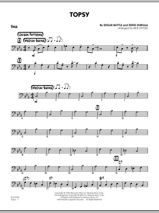 Topsy - Bass (Jazz Ensemble)