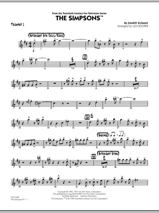 The Simpsons - Trumpet 1 (Jazz Ensemble)