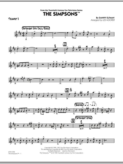 The Simpsons - Trumpet 3 (Jazz Ensemble)
