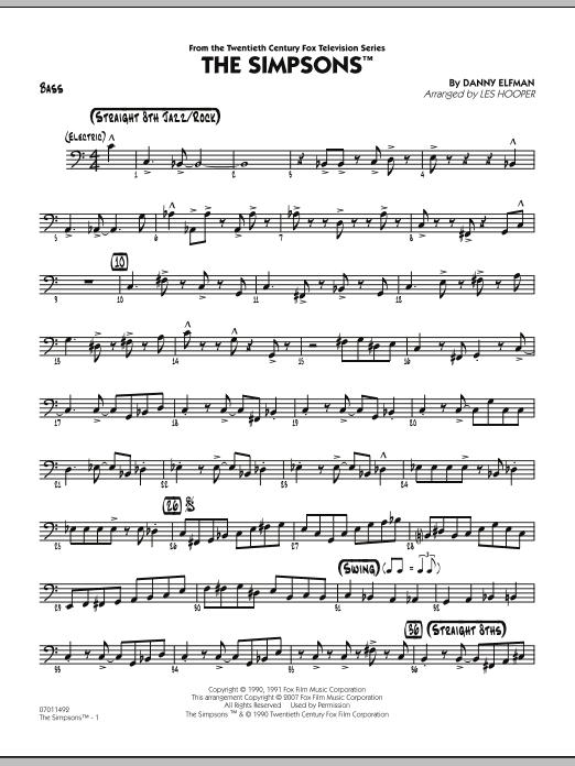 The Simpsons - Bass (Jazz Ensemble)