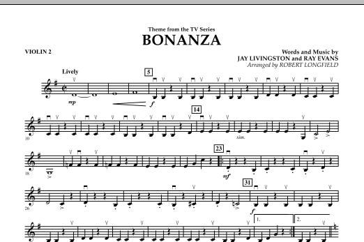 Bonanza - Violin 2 (Orchestra)