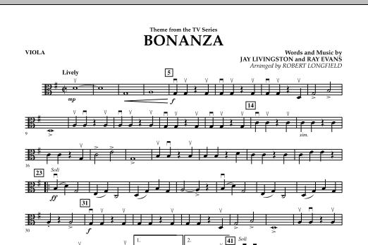 Bonanza - Viola (Orchestra)