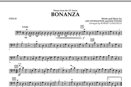 Bonanza - Cello (Orchestra)