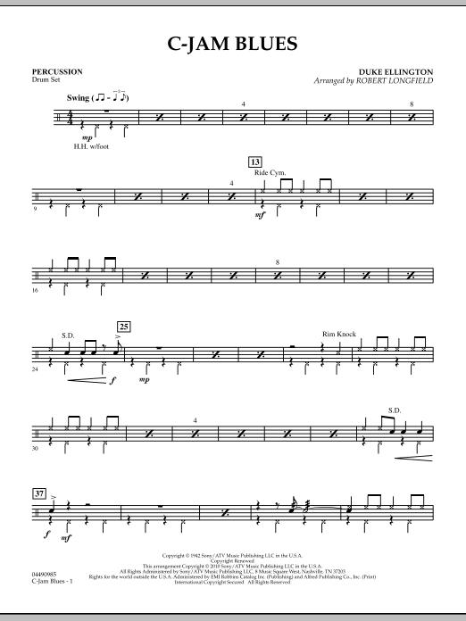 C-Jam Blues - Percussion (Orchestra)