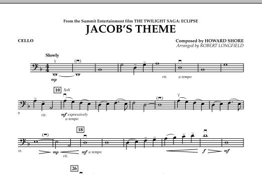 Jacob's Theme (from The Twilight Saga: Eclipse) - Cello (Orchestra)