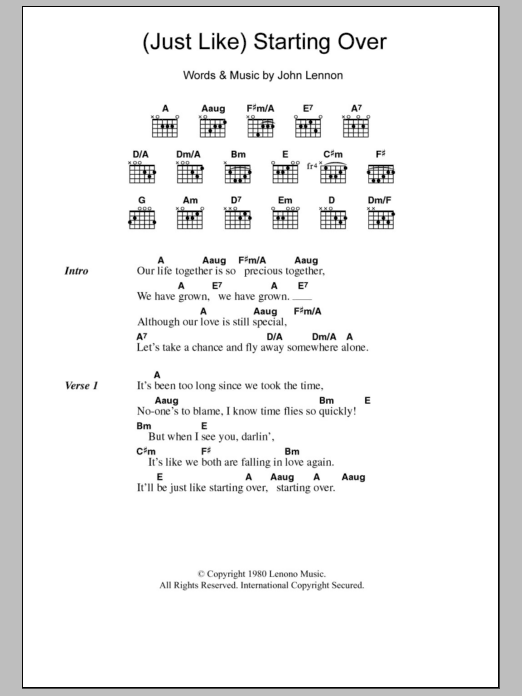 Just what i needed chords