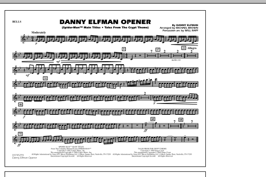Danny Elfman Opener - Bells (Marching Band)