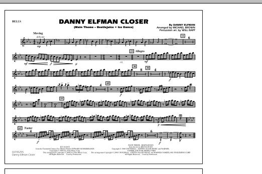 Danny Elfman Closer - Bells (Marching Band)