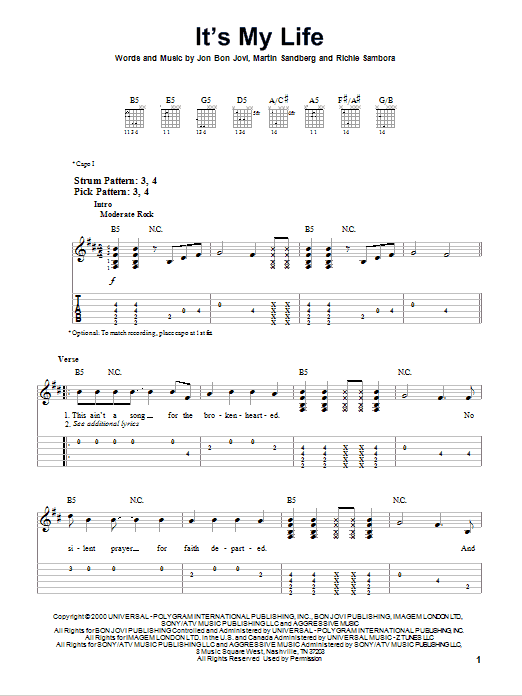 LEARN TO LOVE CHORDS by Bon Jovi  UltimateGuitarCom