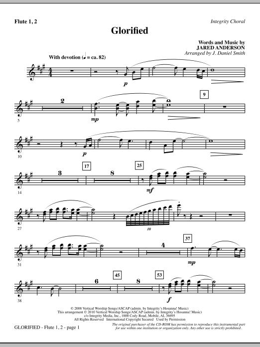 Glorified - Flute 1 & 2 (Choir Instrumental Pak)