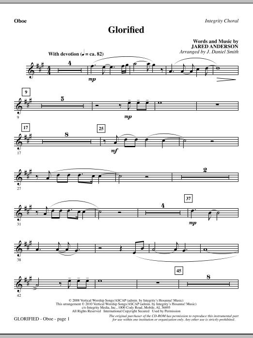 Glorified - Oboe (Choir Instrumental Pak)