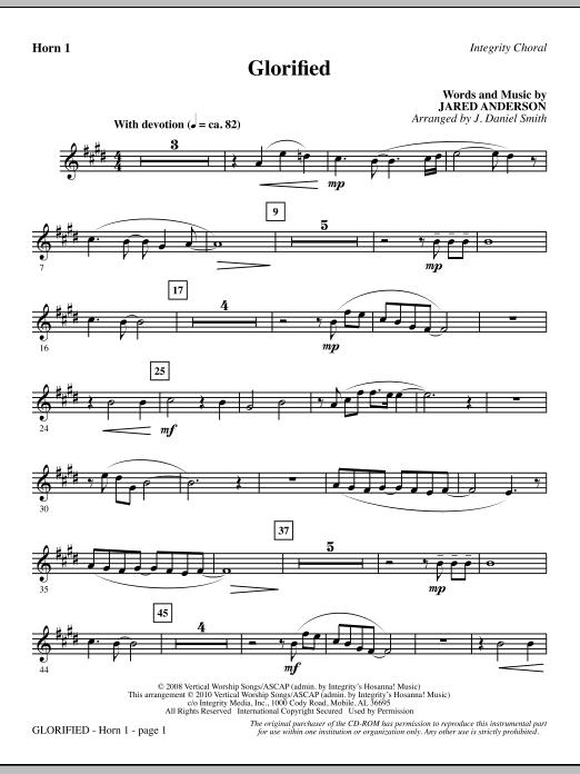 Glorified - F Horn 1 (Choir Instrumental Pak)