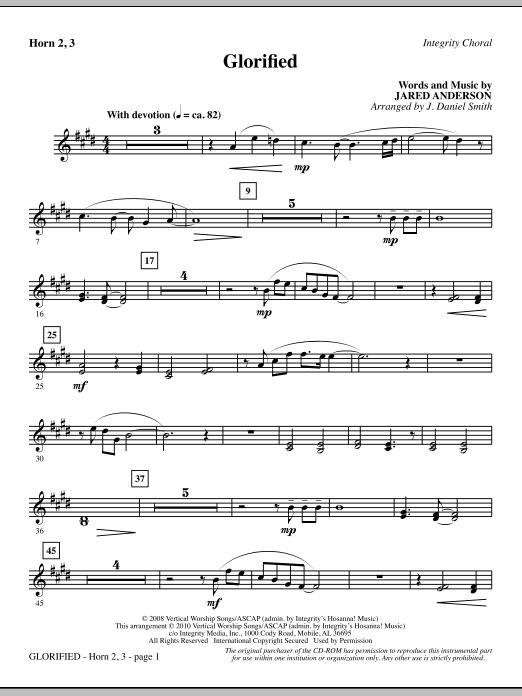 Glorified - F Horn 2,3 (Choir Instrumental Pak)
