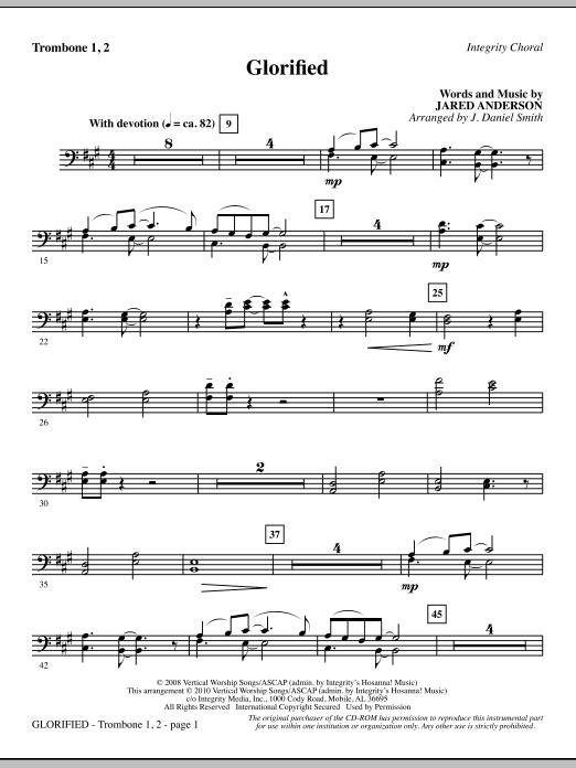 Glorified - Trombone 1 & 2 (Choir Instrumental Pak)