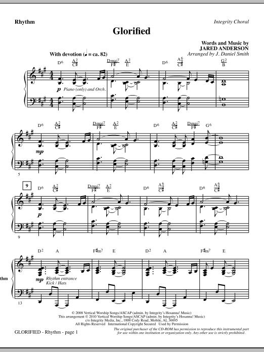 Glorified - Rhythm (Choir Instrumental Pak)