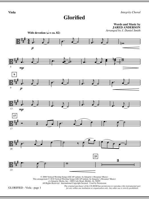 Glorified - Viola (Choir Instrumental Pak)