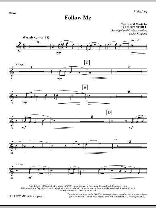 Follow Me - Oboe (Choir Instrumental Pak)