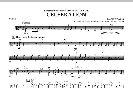 Celebration (Mannheim Steamroller) - Viola (Orchestra)
