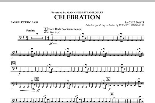 Celebration (Mannheim Steamroller) - Bass (Orchestra)
