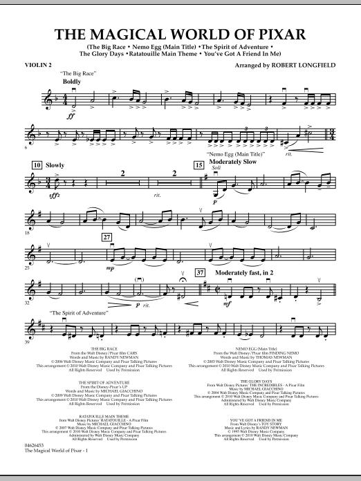 The Magical World Of Pixar - Violin 2 (Orchestra)