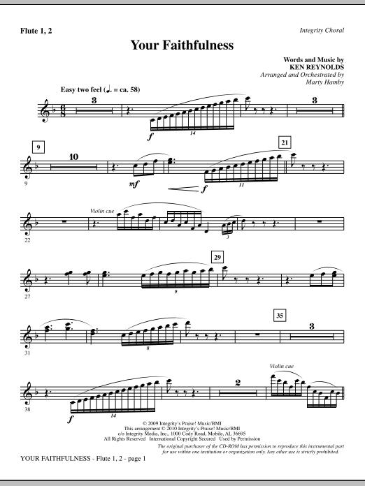 Your Faithfulness - Flute 1 & 2 (Choir Instrumental Pak)