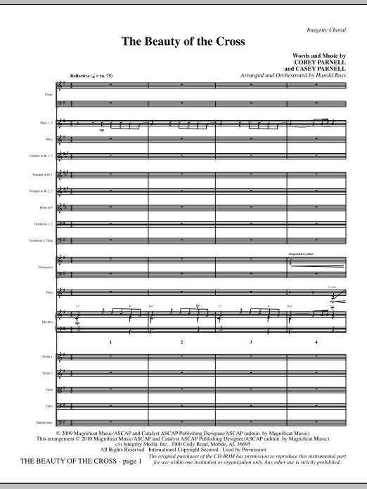 The Beauty Of The Cross - Full Score (Choir Instrumental Pak)