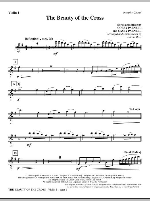 The Beauty Of The Cross - Violin 1 (Choir Instrumental Pak)