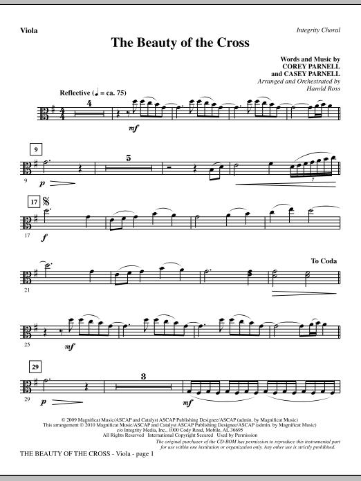 The Beauty Of The Cross - Viola (Choir Instrumental Pak)