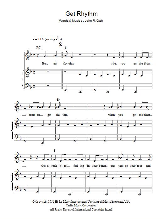 Get Rhythm (Piano, Vocal & Guitar)