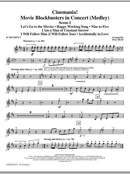 Cinemania! Movie Blockbusters In Concert (Medley) - Bb Trumpet 2 (Choir Instrumental Pak)