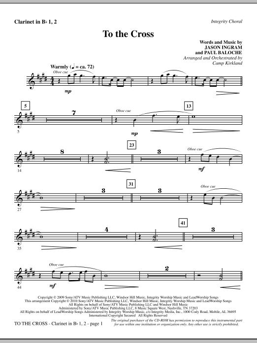 To The Cross - Clarinet 1 & 2 (Choir Instrumental Pak)