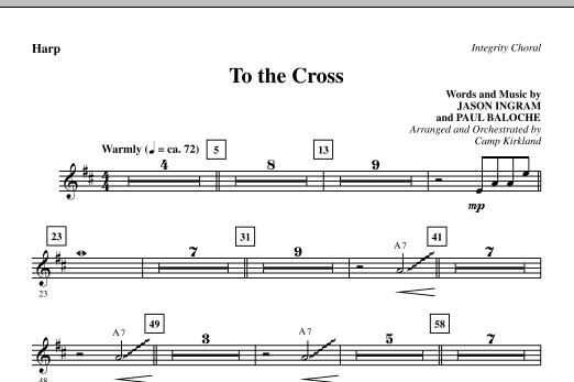 To The Cross - Harp (Choir Instrumental Pak)