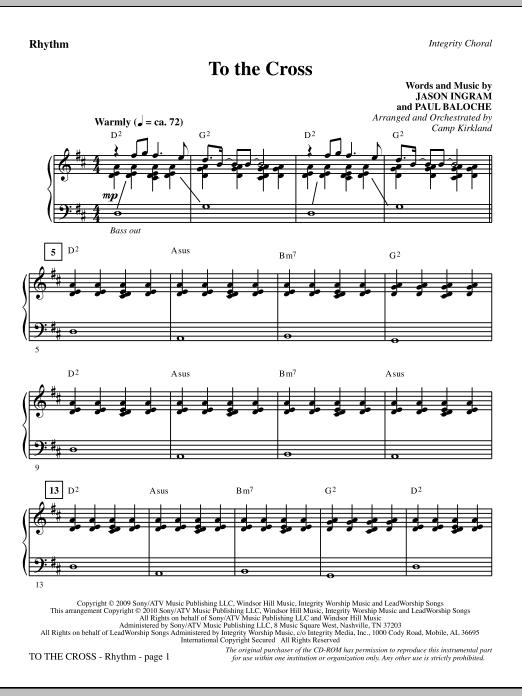 To The Cross - Rhythm (Choir Instrumental Pak)
