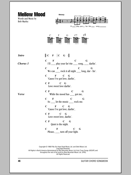 Mellow Mood Sheet Music